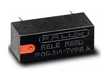 RELE REED RALUX TIPO SM  12V DC 1 CIRCUITO
