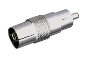 10.553/MF  ADAPTADOR RCA MACHO A TV PAL HEMBRA --