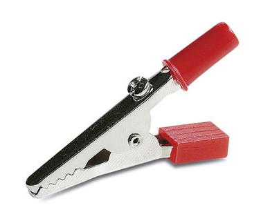 1725/R INSULATED RED ALLIGATOR CLIP