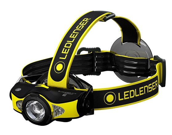 LED LENSER FRONTAL iH11R RECARGABLE