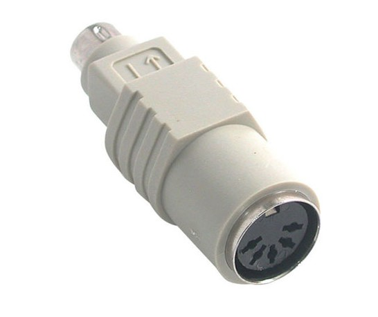 B-44365 ADAPTER PS2 TO DIN 5 FEMALE TO DIN 6 MALE WITH CABLE