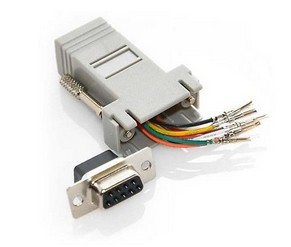 M-52811  ADAPTER FEMALE DB9 TO RJ45 --