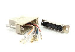 ADAPTER MALE DB25 TO RJ45 --
