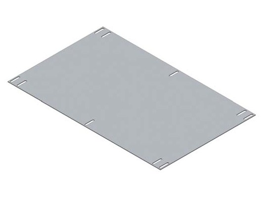 31110905 PLACA DE MONTAJE RETEX SERIE 110 286.5x170mm