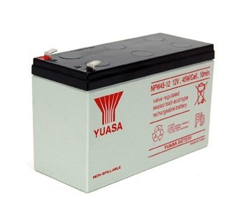 YUASA LEAD BATTERY NPW 45-12 12V 1510x65x97.5 mm