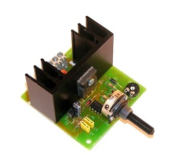 R-5 SPEED REGULATOR FOR 6A. DC MOTOR CEBEK