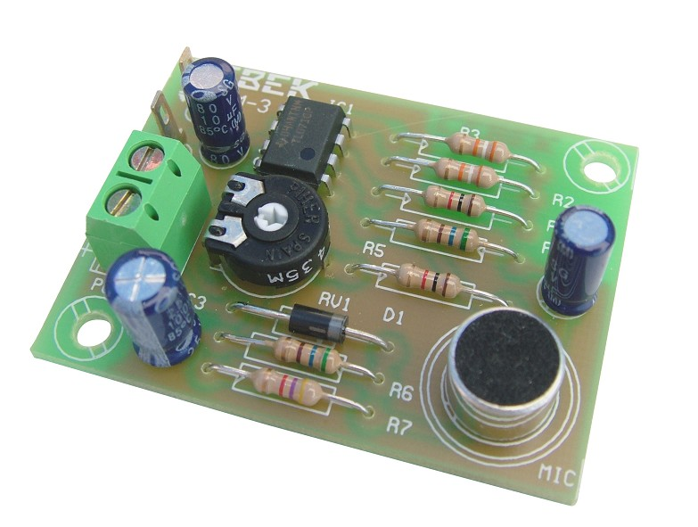 PM-3  PREAMPLIFIER WITH MIC ELECTRET CEBEK