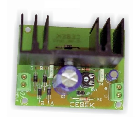 FE-23 FUENTE VARIABLE CEBEK 3 a 15V 1A