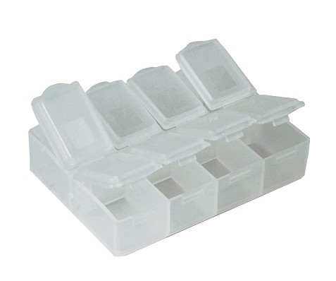 CM050 STORAGE BOX 8 COMPARTMENTS FOR SMD COMPONENTS