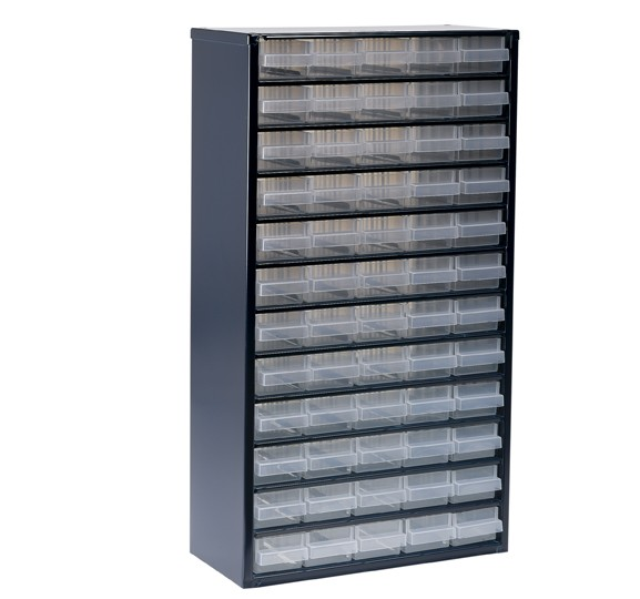 108065 ORGANIZER 60 COMPARTMENTS 1260-00 GREY