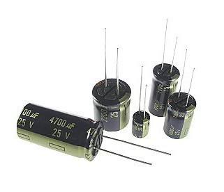 RADIAL ELECTROLYTIC CAPACITOR 4.7uF 35V 5x11