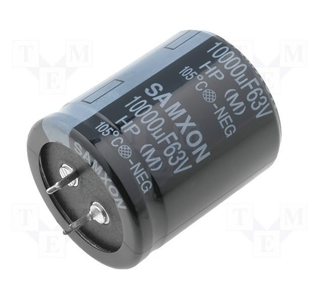 RADIAL ELECTROLYTIC CAPACITOR 10.000uF 63V 35x50