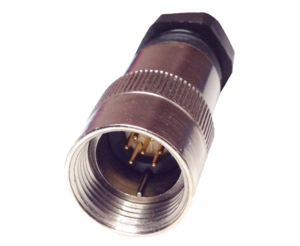 CMEP-10A7AuQ 7 PIN MALE AIR SIDE SAP MILITARY CONNECTOR