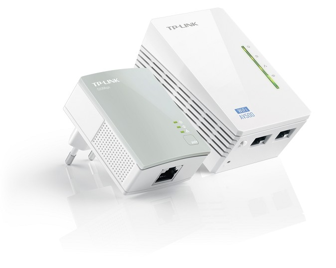 TL-WPA4220KIT PLC POWERLINE EXTENDER WIFI 300Mbps TP-LINK