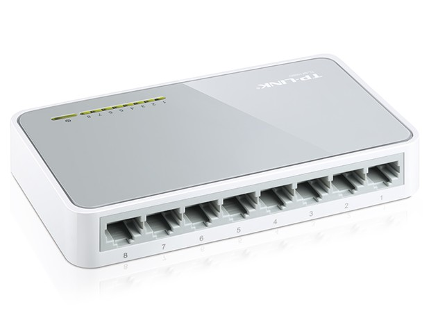 SWITCH 8 PUERTOS TP-LINK TL-SF1008D 10/100 Mbps