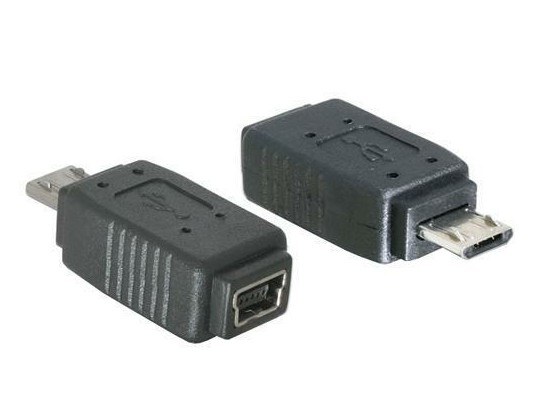 65063 ADAPTADOR USB MICRO B MACHO USB MINI 5 PINES HEMBRA