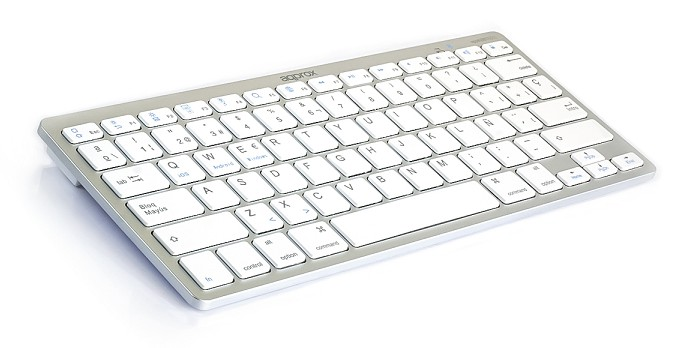 TECLADO BLUETOOTH 3.0 BLANCO