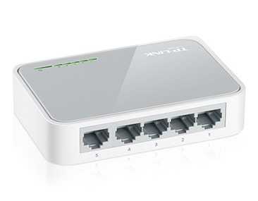 SWITCH 5 PUERTOS TP-LINK TL-SF1005D 10/100 Mbps