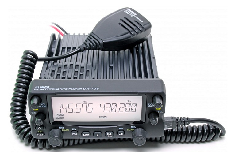 ALINCO DR-735E MOVIL DOBLE BANDA UHF/VHF 50W