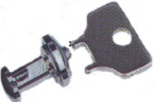 TBR-2T  BOLT WITH NUT AND WRENCH FOR MOUNT
