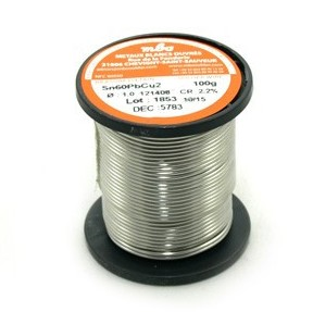 TRIMETAL SOLDER WIRE 0.5mm. 100gr