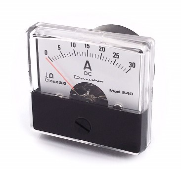 540  PANEL AMMETER 10mA dc