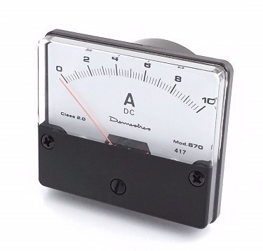 670   PANEL AMMETER 10mA dc