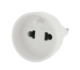 10-146-05-0  UNIVERSAL ADAPTER WITH COLLAR WHITE