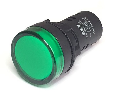 L600V220V PILOTO MULTILED VERDE 230V CA IP65