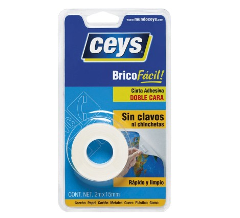500801  CEYS 2 SIDED ADHESIVE