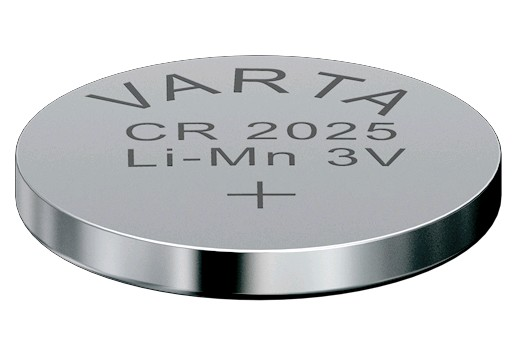 6025  LITHIUM BATTERY VARTA CR2025 3V
