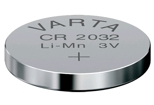 6032  LITHIUM BATTERY VARTA CR2032 3V