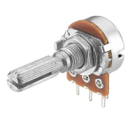 VRA-100M20  LOGARITHMIC POTENTIOMETER 20K Ohm