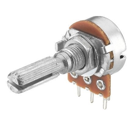 VRA-100M500  LOGARITHMIC POTENTIOMETER 500K Ohm