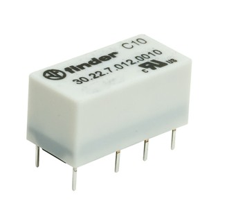 MINIATURE FINDER RELAY 30.22.7.005  5V 2A 2 CIRCUITS