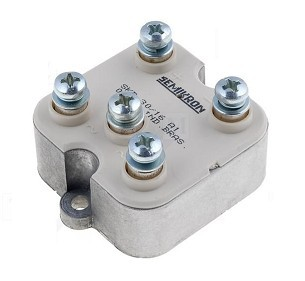buena disipaci/ón de calor e instalaci/ón conveniente Rectificador de puente 50A 3 fases 50 amperios diodo puente rectificador 50 Amp 1200 V Puente rectificador