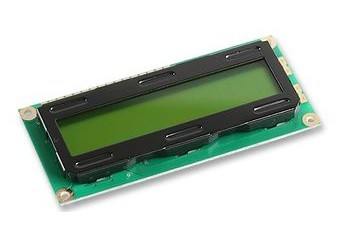 DISPLAY LCD LMB202DBC 20x2 YG 5V