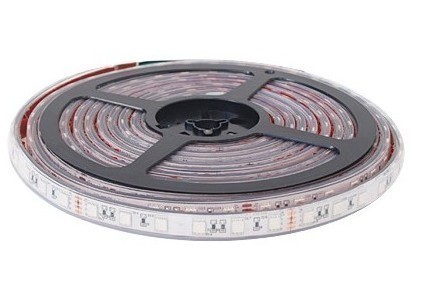 TIRA LED FLEXIBLE VERDE 5050 IP67 MODULO 3 LED