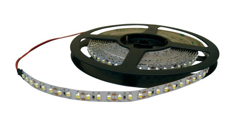 TIRA LED FLEXIBLE ROJO 3528 12VDC MODULO 3 LED