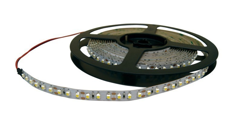 TIRA LED FLEXIBLE VERDE 3528 12VDC  MODULO 3 LED