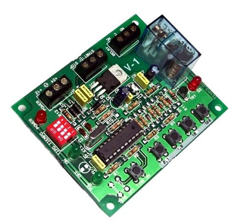 I-301 TEMPORIZADOR DIGITAL PROGRAMABLE CEBEK 12/24V