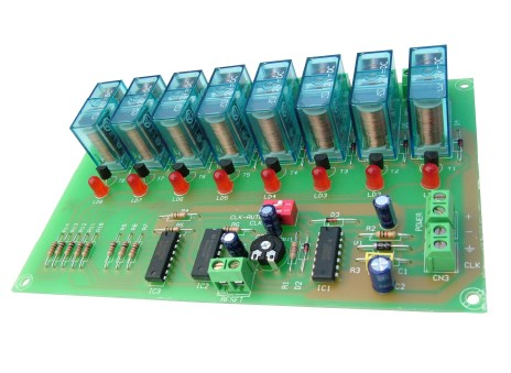 I-55 8 OUTPUTS SEQUENTIAL MODULE CEBEK