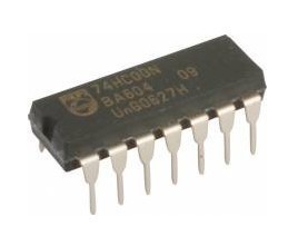 INTEGRATED CIRCUIT CD40106 DIL-14