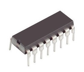 INTEGRATED CIRCUIT CD4017 DIL-16