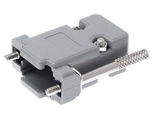 PLASTIC COVER FOR DB9 SUB-D CONNECTOR