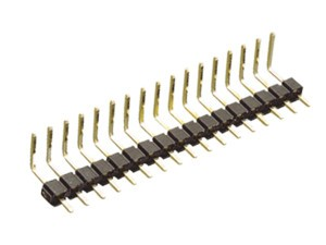 10.837  MALE STRIP BENT 40 PINS