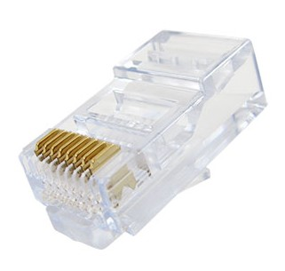 39.002/8/R RJ-45 CONNECTOR CAT-5 UTP RIGID
