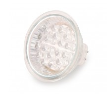 LAMPARA DICROICA LED E-27 220V BLANCO CALIDO*