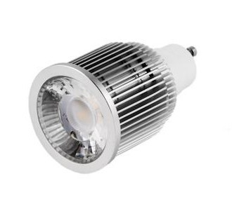 LAMPARA LED GU10 7W 220V BLANCO PURO*