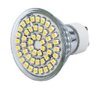 LAMPARA MULTILED 5W GU-10 230V BLANCO PURO